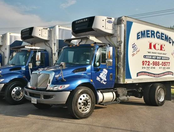 Emergency Ice trucks