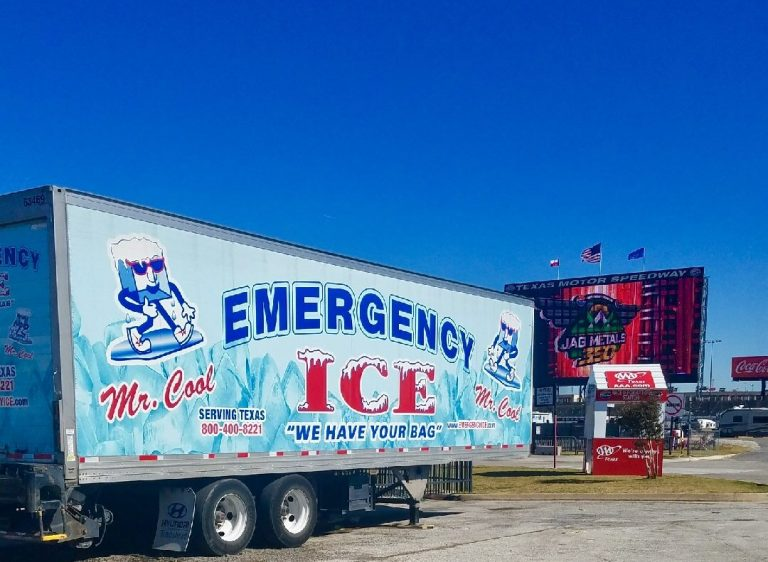 Emergency Ice - Pup Trailer - Ice service and delivery